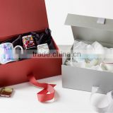 custom magnetic closure cardboard box for cup packaging