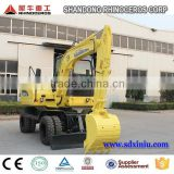 excavator bucket volume 6ton hydraulic excavator hand digging machine