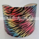 2013 Bracelet bangles Acrylic printed body jewelry piercing China