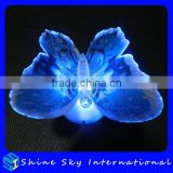 Novelty Colorful Fiber Optic Butterfly Nightlight LED Butterfly For Wedding Room/Party Decoration