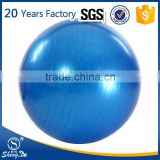 Increase Stability oval gym ball, logo printing exercise ball wholesale