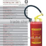 Fire Extinguisher Brands with EN3 Estintore