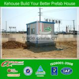 Unique design beauty light steel panel sentry house for construction site from china alibaba
