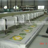 Lejia 12 heads chenille embroidery machine