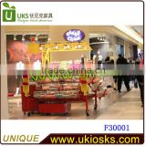 ISO14000 Certificated Custom made Chinese new year celebration mobile candy cart popular with children