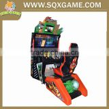 Mongolia coin operated 2 player car racing game form ShengQiXiang
