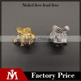 China wholesale fashion stainless steel DIY charm beads for bracelet