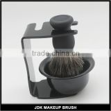 Pure Badger Mens Shaving Brush Kit/Wholesale Shaving Brush/Badger Black Shaving Brush Kit