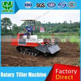 Low Price Power Rotary Tiller Rotary Hoe Tractor Manufacture Diesel Crawler Track Rotary Cultivator Crawler-Type 1GZ-180