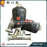 stainless steal pneumatic diaphragm valves, pneumatic diaphragm valve/Sanitary manual pneumatic diaphragm valve