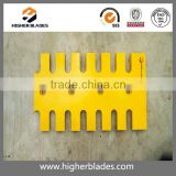 Hot-Selling Heavy Equipment parts excavator bucket cutting edge dozer cutting blade bolt on cutting edge for loader