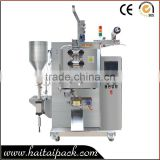 with three rollers heating sealed 50-120bags sachet pasted honey filling packing machine