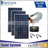 BESTSUN 3000W Complete off grid Solar power system Portable home solar power system