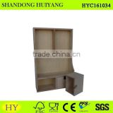 wholesale wood wall shelf decoration for kitchen