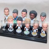 Custom resin football player toys bobbleheads wholesale