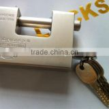 Large size rectangular iron padlock steel padlocks