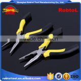 "8"" germany type combination plier long nose needle industrial linemen high leverage wire cable cutting"