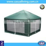 Luxury Garden Party Canopy Gazebo Tent with Mosquito Netting