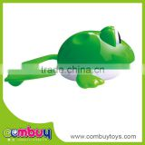 Hot selling cheap wind up swimming plastic realistic frog toy