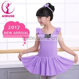 Summer Girls Toddler Ballet Tutu Dress Sleeveless Ballet Dancewear Kids Ballet Practice Leotard