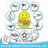 Funny diy baby plastic silicone toys for kid