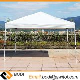 Amazon Ebay Popular Pop-up Instant Shelter Canopy Outdoor Gazebo Party Tent, 10X10FT White W/ Wheeled Carry Bag