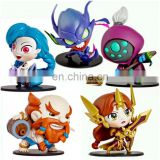 2016 hot selling cute mini action figure of game League Of Legends pvc figure carton LOL One piece doll