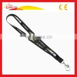 Printed Polyester Custom Lanyard Neck Strap Mobile Phone