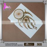 High Quality Gold Foil metallic Arabic Tattoos