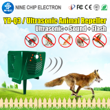 Ultrasonic animal repeller pest control products solar  cat repellent