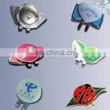 Promotional Prices!!! golf cap clip with ball marker