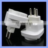 Universal for European Socket 240V 10A 3 Pin UK to European Plug Converter Switzerland Travel Converter Plug Adaptor