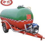 5ton single axle water tank trailer for sprayer