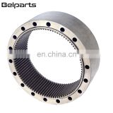 Belparts excavator 20Y-27-22150 travel motor gear ring PC200-7 PC200-6 traveling gear ring