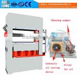 Door plate embossing hydraulic press machine