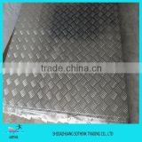 factory price wholesale ribbed aluminum sheet