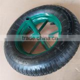 wheelbarrow tire 350-8 heavy duty durable wheels for wb6400