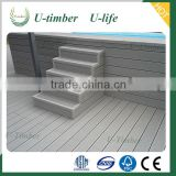 Anti-Slip Wpc Flooring For Outdoor Stairs Deck