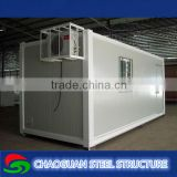 1 bedroom/kitchen/bathroom china mobile container homes with low price