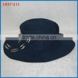 100 cotton cheap black men wholesale custom embroidered bucket hats                                                                                                         Supplier's Choice