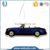 Plastic different styles of car air freshener paper made in China