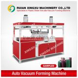 Plastic sheet trolly case vacuum forming machine (auto type)