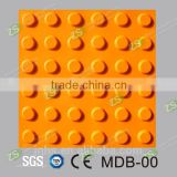Pedestrian tactile stud indicator--Rubber Tactile Tile Rubber Tactile Paver Rubber Tactile Paving Brick