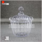 High Quality HEXAGONAL GLASS JARS from alibaba china