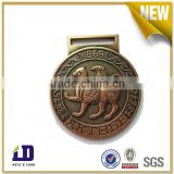 Custom made metal medal for school / college / sport meeting / award ceremony with ribbon