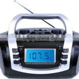 Dongguan Portable USB SD AM FM SW Digital Display Radio Boombox