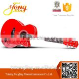 Hot Sale 40 Size OM/OOO Style Solid Top Acoustic Steel String Guitar (TL-0041)