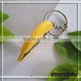 Supplier 2014 Souvenir Custom PVC Colorful Holland Windmill Keychain For Tourist