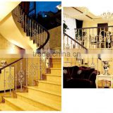 Stainless steel aluminum alloy outdoor garden railing/wrought iron stair railing