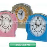 snooze light bell/bird alarm changeable talking clock